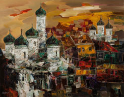 Personal exhibition of Sergey Inkatov