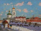 The modern school of painting Penza