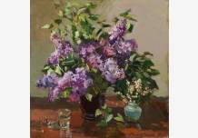 Lilacs and lilies of the valley