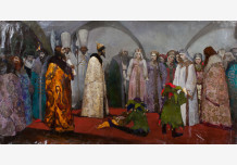 Ivan The Terrible. Choosing the bride