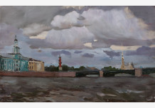 Clouds over the Neva
