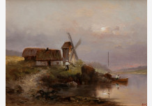 The mill on the lake