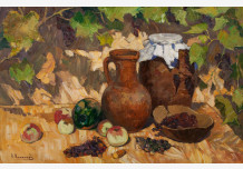 Still Life with a vine