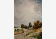 Cottage near the Dnieper