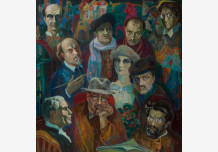 Russian painters of the early XX century
