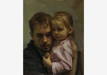 Self-portrait with daughter