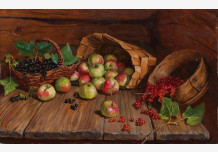 Apples and currants