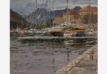 Kotor. On the quay