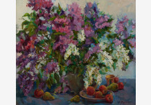 Lilacs and Apples