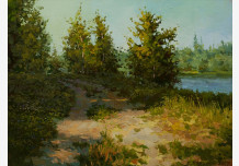 The road to the river