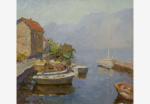 A quiet evening in the Bay near Kotor