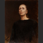 Portrait of Maya Plisetskaya