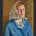 Portrait of country woman