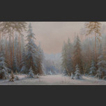In the winter forest