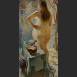 Nude with lute