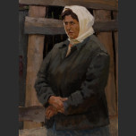 Portrait of woman in sweater