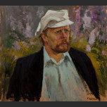 Portrait of a man in a white cap