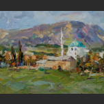 Sun Valley (Landscape with a mosque)