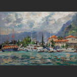 Harbour in the Old Kotor
