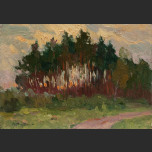 Hotynskaya autumn. Plein Air
