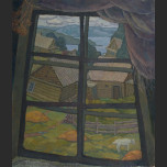 Window in the village