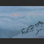 Elbrus in the clouds