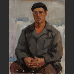 Portrait of a young worker