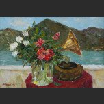 Flowers and Gramophone
