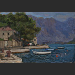 Evening. Perast