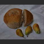 Bread and pears