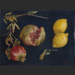 Pomegranates and lemons