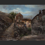 Old Yard. The town of Kotor