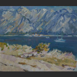 Landscape in the Bay of Kotor